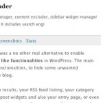 特定のカテゴリーの記事を非表示にするWpプラグイン-Advanced Category Excluder