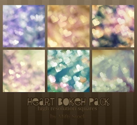 Heart Bokeh Pack