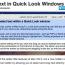 QuickLookで開いたテキストを選択できるようにする方法