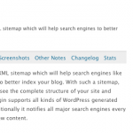 WordPressプラグイン-Google XML Sitemapsを入れてみた