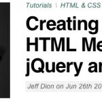 スクロールしてもついてくるサイドメニューをjQueryとCSSで作るチュートリアル