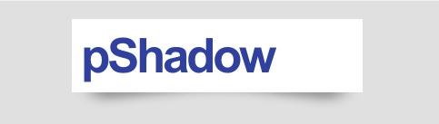 jQueryプラグイン-pShadow