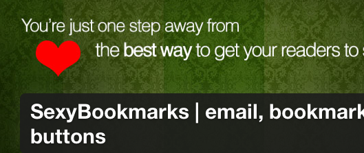 WordPress › SexyBookmarks | email, bookmark, and share buttons « WordPress Plugins