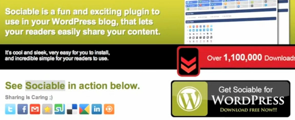 WordPress › Sociable « WordPress Plugins