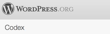 WordPress Codex