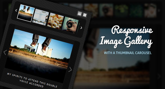Responsive Image Gallery with Thumbnail Carousel | Codrops