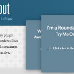 画像等を回転して見せる事ができるjQueryプラグイン-Roundabout