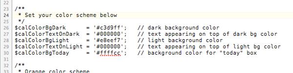 gcalendar-wrapper.php ファイルの編集箇所