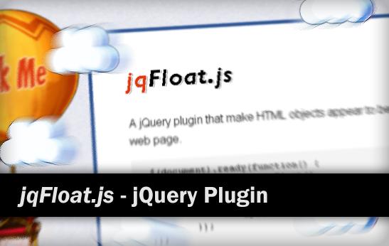 jQueryプラグインjqFloat