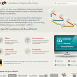 Git をインストールする手順[ 1 ] – インストーラからインストールする