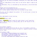 さくらのVPS サーバで複数のドメイン(Virtualhost / マルチドメイン)を運用する方法